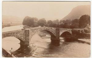 Denbighshire; Llanrwst Bridge 5385 RP PPC By Photochrom, Unused, c 1910's