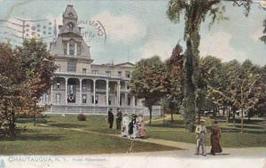 New York Chautauqua Hotel Athenaeum 1908 Tucks