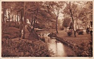 BUXTON ENGLAND~SERPENTINE WALKS PHOTO POSTCARD