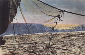 Postal 60920: Atardecer del sol en el Mediterraneo
