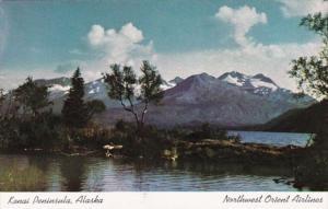 Alaska Kenai Peninsula Northwest Orient Airlines