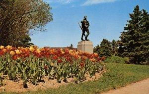 Canada - Newfoundland, St John's. Bowring Park Statue