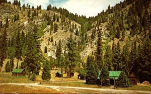 Idaho Sawtooth Wilderness Area Sawtooth Lodge