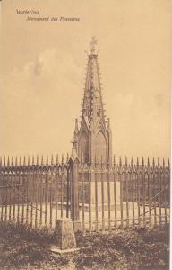 Monument des Prussians, Waterloo, Walloon Brabant, Belgium 1900-10s
