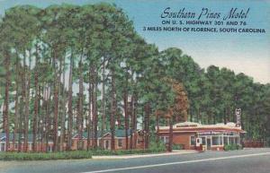 South Carolina Florence Southern Pines Motel