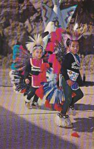 Little Cherokee Indian Dancers Cherokee Indian Reservation North Carolina
