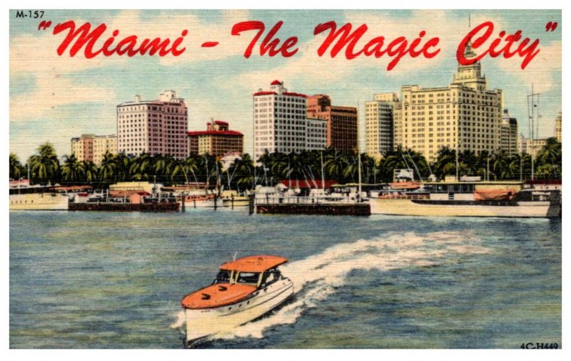 Florida  Miami the Magic City