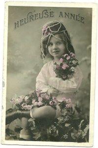 RP: Girl wearing Art Nouveau Pearl Headdress , HEUREUSE ANNEE , 00-10s