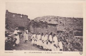 Atlas-Marocain.-La danse des petits Chleuhs , 00-10s