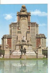 Postal 031241 : Madrid. Plaza de Espa?. Monumento a Cervantes