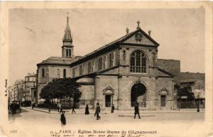 CPA Paris 18e Église Notre Dame de Clignancourt (283866)