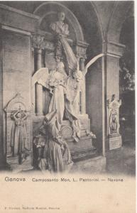 Italy, Italia, Genova, Genoa, Camposanto Mon L. Pastorini - Navone, early 1900s