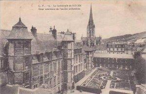 France Rouen La Cathedrale  Cour Interieure de l'ancien archeveche