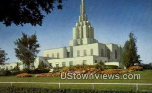 Mormon Temple Idaho Falls ID Unused