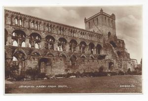 UK Scotland Jedburgh Abbey from South Valentines Postcard