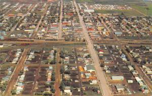 Canada Humboldt Saskatchewan The heart of the Sure Crop Aerial view