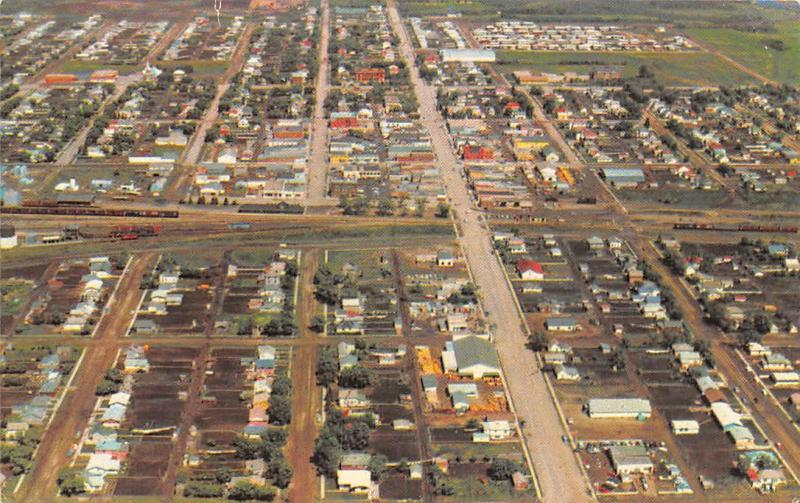 Canada Humboldt Saskatchewan The heart of the Sure Crop Aerial view
