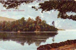 STIRLING SCOTLAND UK LOCH KATRINE ELLEN'S ISLE