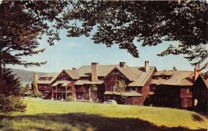 Old Forge New York~Adirondack League Club~Little Moose Lodge~Classic Car~1954 Pc