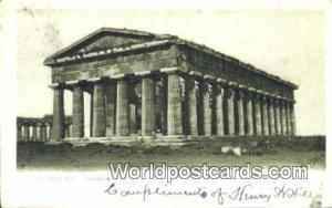 Paestum Netherlands, Nederland Tempio di Nettuno Paestum Tempio di Nettuno
