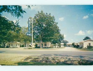 Unused Pre-1980 CHAT-N-REST MOTEL Turbeville South Carolina SC s7923-12