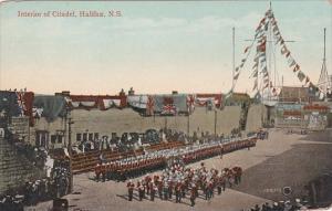 Interior Of Citadel Halifax Nova Scotia Canada