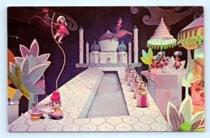 Postcard CA Anaheim Disneyland Fantasyland India It's a Small World 35942 A38