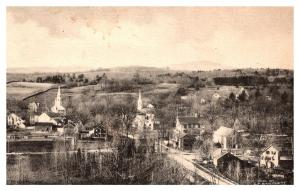 Massachusetts  Sterling , Aerial View of Town