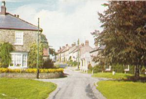 Catterick Yorkshire Village Bank 1970s Postcard