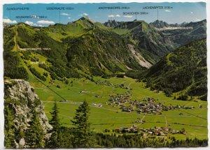 Tannheim in Tirol, 1111m, Austria, 1980 used Postcard