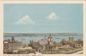 Town Clock, and Harbour, Halifax, Nova Scotia, Canada,  00-10s