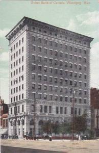 Union Bank Of Canada, Winnipeg, Manitoba, Canada, 1900-1910s