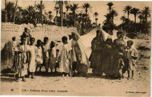 CPA AK Algérie-Enfants d'une tribu nomade (237915)
