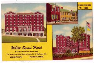 White Swan Hotel, Uniontown PA
