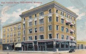CHEYENNE , Wyoming , 1909 ; First National Bank