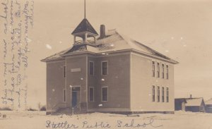 RP: STELLTER , Alberta , Canada , PU-1906; Public School