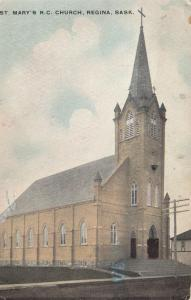 REGINA , Saskatchewan, 1919 ; St Mary's R.C. Church
