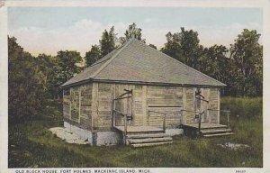 Michigan Mackinac Island Old Block House Fort Holms