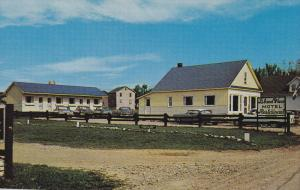 Island View Motel and Restaurant, Perce, Quebec, Canada, 40´s-60´s