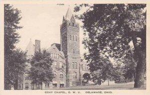 Ohio Delaware Gray Chapel Ohio Wesleyan University Albertype