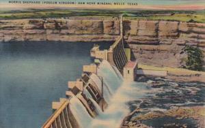 Texas Morris Shephard Dam Near Mineral Wells