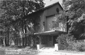 Birmingham Michigan~Cranbrook Foundation-Cranbrook Pavilion~1946 Real Photo~RPPC