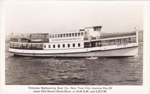 RP: Veterans Sightseeing Boat Co. , NEW YORK CITY, 20-30s