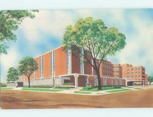 Unused Pre-1980 BUILDING SCENE Oshkosh Wisconsin WI H4635