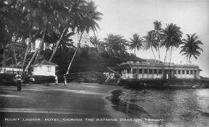 Sri Lanka Ceylon Mount Lavinia Hotel Vintage Postcard