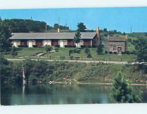 Unused Pre-1980 LODGE SCENE Sally Buffalo Park - Cadiz Ohio OH J7037