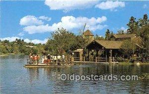Heading for Adventure, Tom Sawyer Walt Disney World, FL, USA Unused