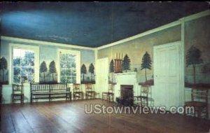 Masonic Meeting Room - Old Sturbridge Village, Massachusetts MA