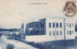 Tunisia Souk El Kemis Internat 1927