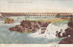 Idaho American Falls O S L Railway Bridge 1907